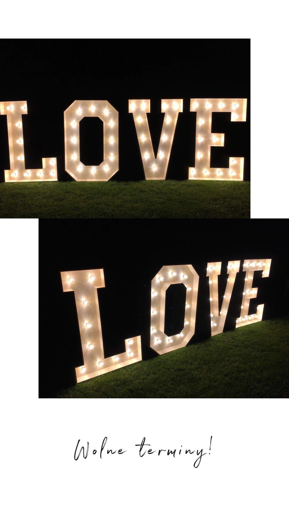 Napis Love Łańcut