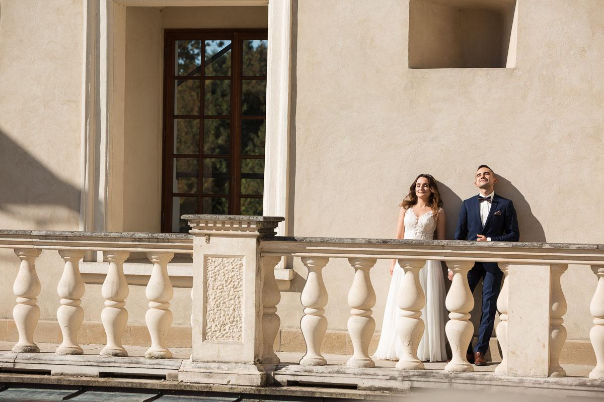 sesja ślubna na zamku w krasiczynie