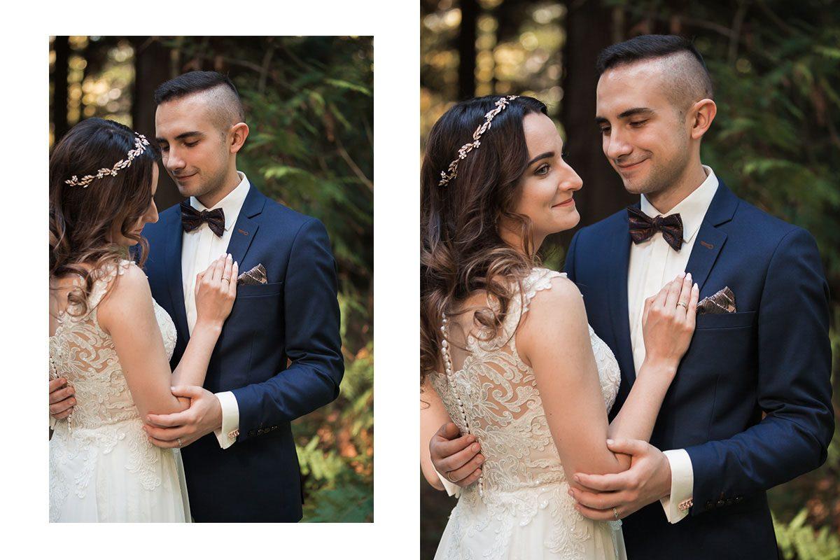 krasiczyn plener ślubny