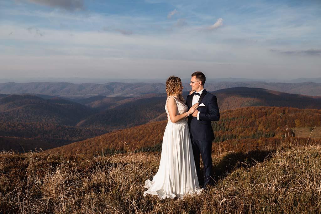 Plener ślubny w Bieszczadach (1)