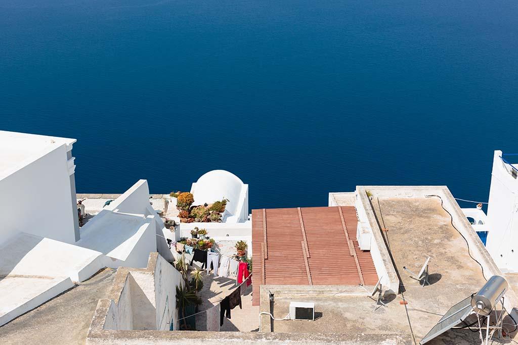 Sesja zdjęciowa Santorinio