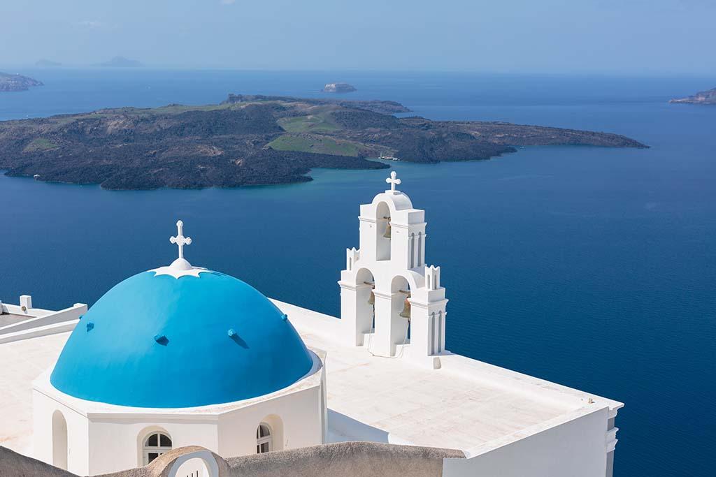 Sesja zdjeciowa na Santorini