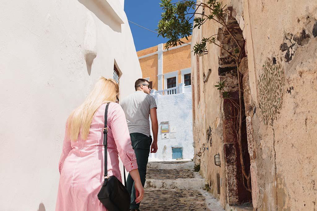 Plener ślubny na Santorini