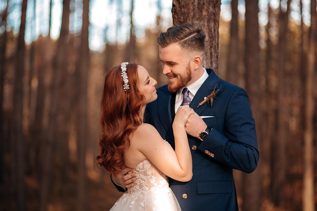 plener ślubny jesien