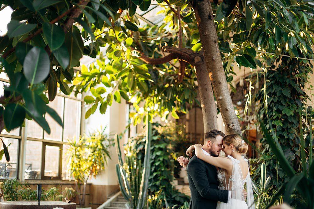 plener ślubny oranżeria