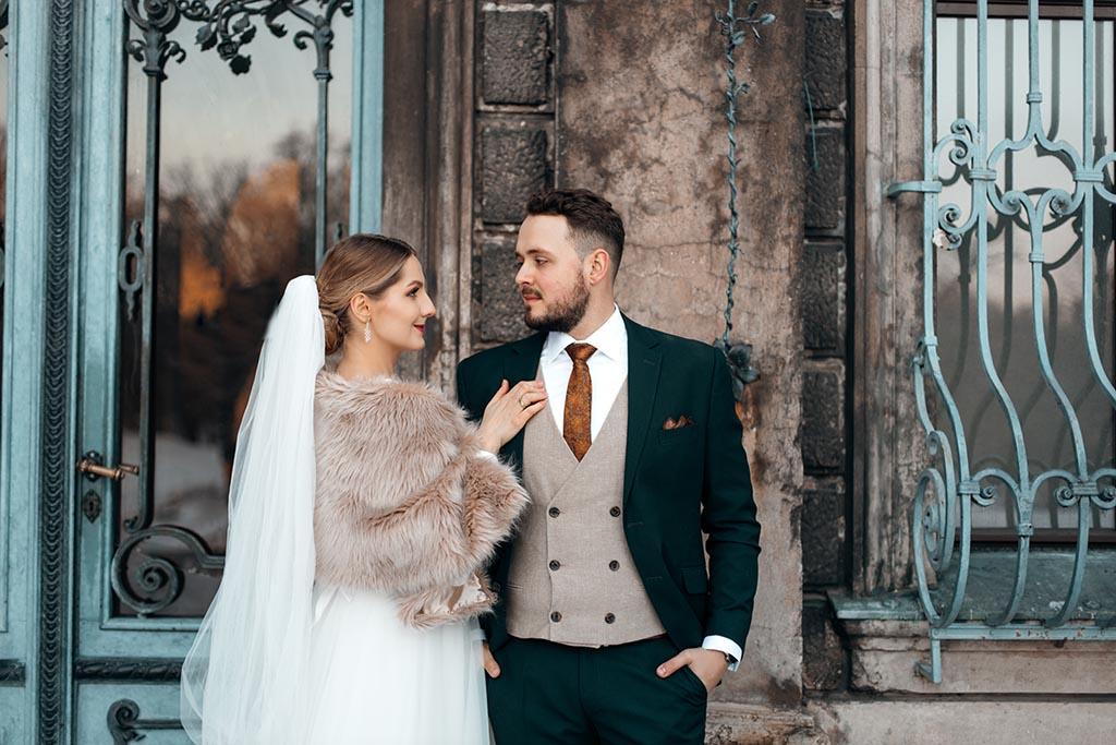 plener ślubny w mosznej